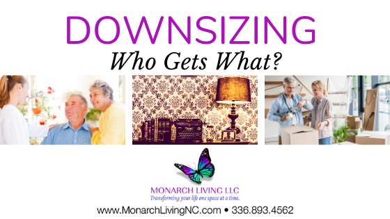 Downsizing is a difficult transition to make for everyone