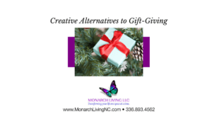 Creative Alternatives to Gift-Giving