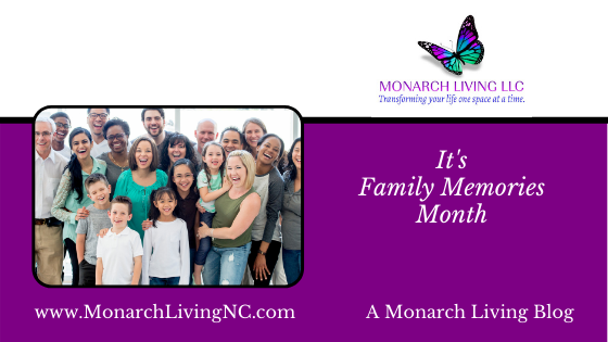 It's Family Memories Month!